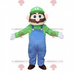 Mascot of Luigi, den berømte blikkenslagerven til Mario fra