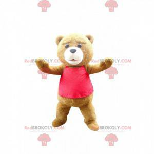 Mascot Ted, the famous brown bear from the film of the same