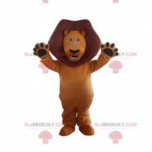 Maskottchen von Alex, dem berühmten Löwen aus dem Film