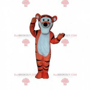 Maskot Tigger, slavný oranžový tygr v Medvídkovi Pú -
