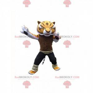 Maskotka mistrzyni tygrysicy, słynnego tygrysa w kung fu panda