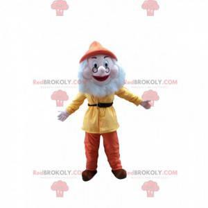 Mascot Prof, il famoso nano del cartone animato Biancaneve -