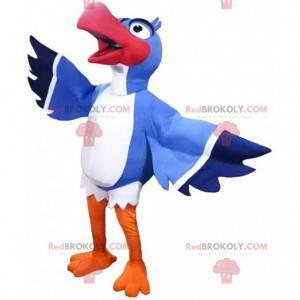 """Mascote de Zazu, o famoso pássaro do desenho animado """"O rei"""