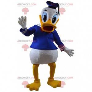 Mascota del pato Donald, el famoso pato de Walt Disney -