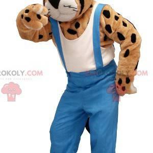 Gepard leopard maskot kombinézy - Redbrokoly.com
