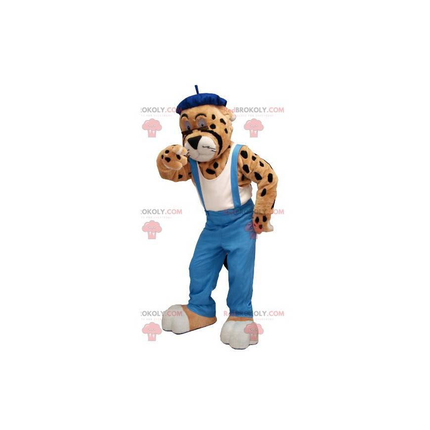 Maskottchen-Overalls für Geparden-Leoparden - Redbrokoly.com