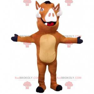 """Mascot of Pumbaa, the famous warthog in """"The lion king"""" -"""