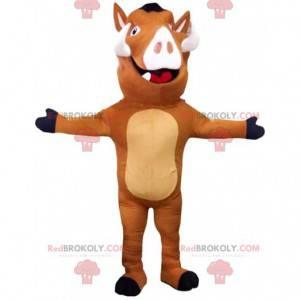 """Maskot Pumbaa, slavný prase bradavičnaté v """"Lví král"""" -"""