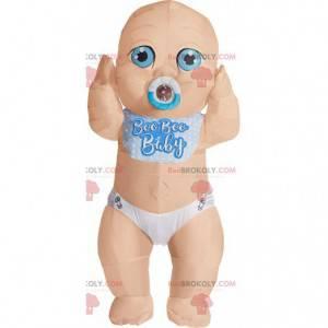 Mascote inflável de bebê, traje inflável de bebê gigante -