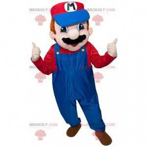 Maskottchen Mario, der berühmte Videospiel-Klempner -
