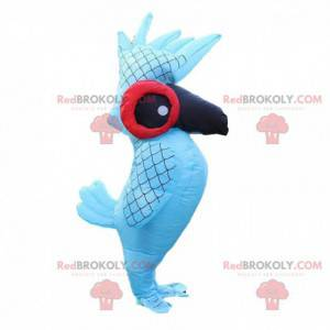 Nafukovací a obrovský maskot papouška, ptačí kostým -