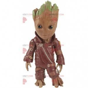 Maskot Groot, slavná postava z Marvel, film - Redbrokoly.com
