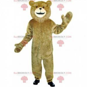 Brun bamse maskot, bamse kostyme - Redbrokoly.com