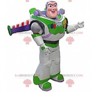 Mascot Buzz Lightyear, berømt karakter fra Toy Story -