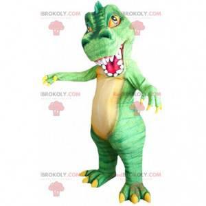 Mascote do dinossauro Allosaurus, fantasia de Allosaur gigante