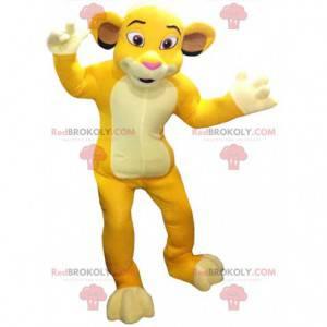 """Mascotte Simba, de beroemde leeuw uit de tekenfilm """"The Lion"""
