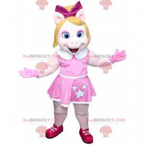 Mascota de la famosa Miss Piggy, Piggy la puta de los Muppets -