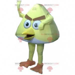 Maskot Chucka, slavného žlutého ptáka hry Angry birds -