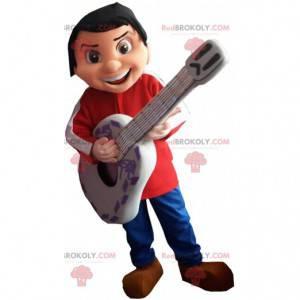 Mascotte van Miguel Rivera, de kleine muzikant van het jongetje
