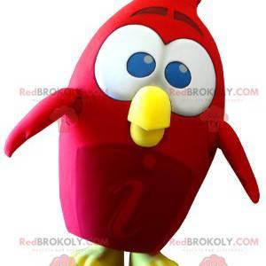 Rød fuglemaskott fra Angry Birds videospill - Redbrokoly.com