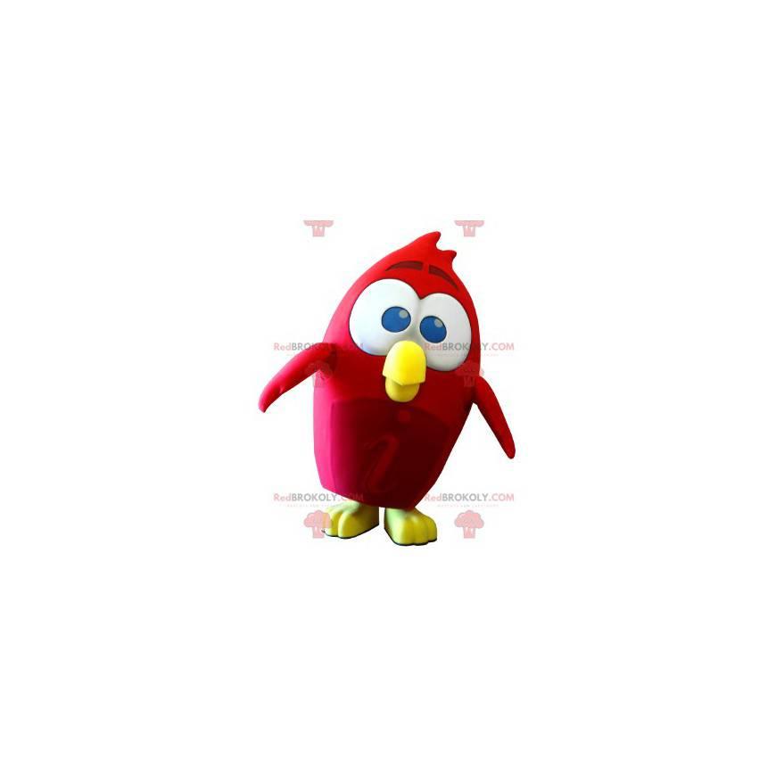 Red Bird Maskottchen aus dem Angry Birds Videospiel -