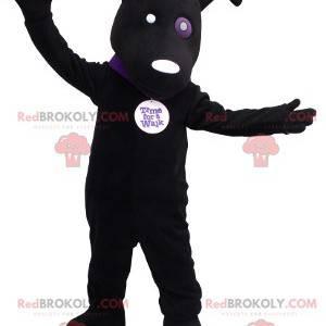 Black dog mascot - Redbrokoly.com