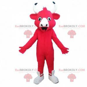 Mascot for den griner ko, berømte malkeko - Redbrokoly.com