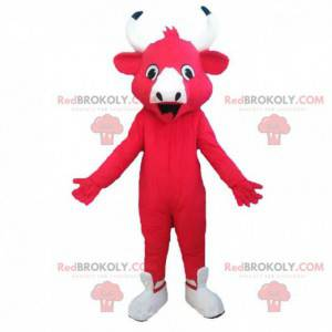 Mascotte van de lachende koe, beroemde melkkoe - Redbrokoly.com