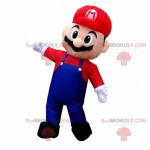 Mascote inflável Mario, famoso encanador de videogame -