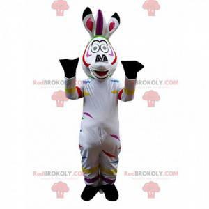 Maskot Marty, slavná karikatura zebra - Redbrokoly.com