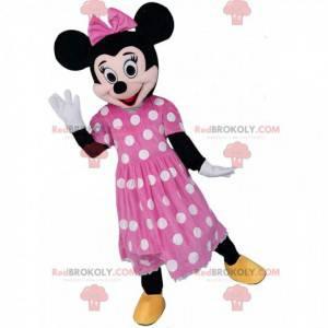 Mascote de Minnie Mouse, o famoso rato da Disney -