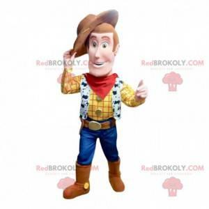 """Maskot Woody, slavný šerif z karikatury """"Příběh hraček"""" -"""
