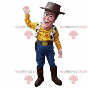 """Maskot af Woody, den berømte sherif fra tegneserien """"Toy Story"""""""