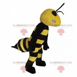 Giant wasp mascot looking nasty, insect costume - Redbrokoly.com