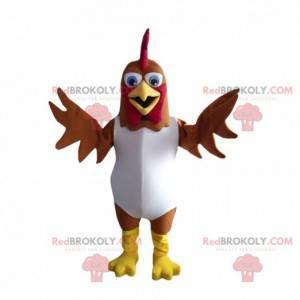 Mascot of Bartolito, the famous chicken of children's songs -