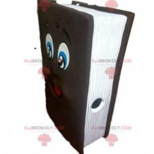 Obří hnědý knižní maskot. Obří knižní kostým - Redbrokoly.com