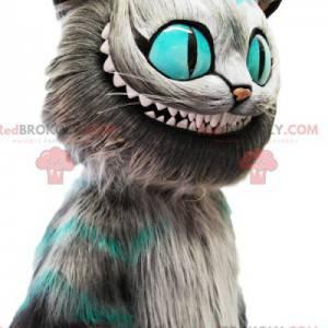 Alice nel paese delle meraviglie mascotte del gatto -