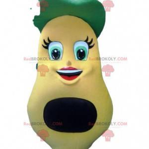 Maskot právník a její malý zelený baret - Redbrokoly.com