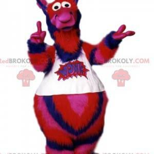 Mascote alienígena tricolor e suas antenas! - Redbrokoly.com