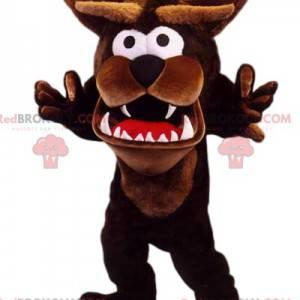 Funny and fierce Tasmanian Devil mascot - Redbrokoly.com