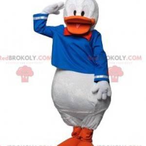 Donald mascotte met zijn beroemde zeemanskostuum -