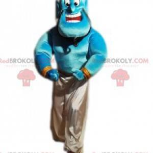 Maskot slavného a velkého génia, postava Aladina -
