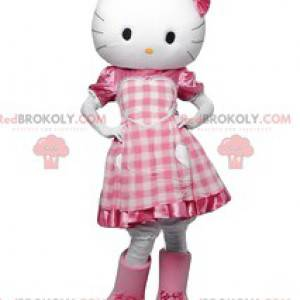 Hello Kitty maskot, koketní malá bílá kočka - Redbrokoly.com