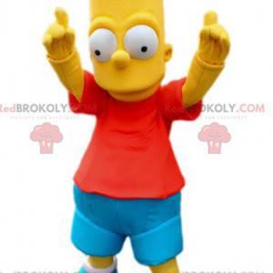 Bart maskot, karakter af Simpson Family - Redbrokoly.com
