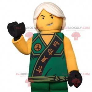 Maskot Playmobil, asijský válečník a jeho tradiční oblečení -