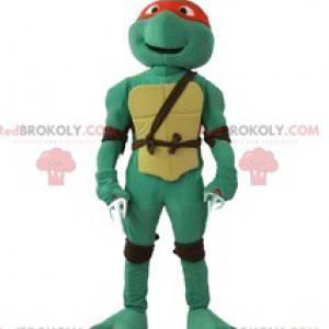 Mascote Rafael, o personagem das Tartarugas Ninja -