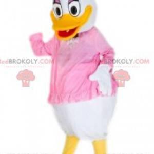 Mascot Daisy Duck, de beroemde bruid van Donald Duck -