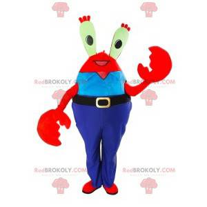 Kaptajn Krabs maskot, krabben, SpongeBob SquarePants -