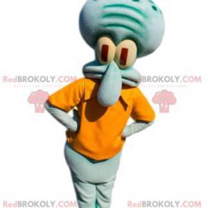 Maskottchen Carlo Tentacle, der Tintenfisch von SpongeBob