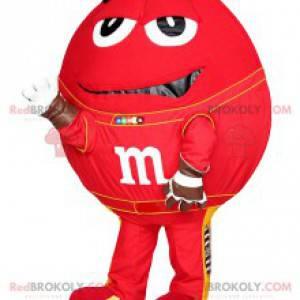 M & M'S maskot rød med sine store øyne - Redbrokoly.com